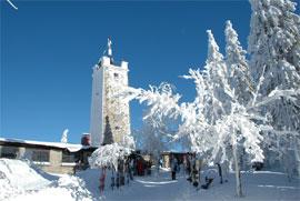 Winterurlaub: Einkehr am Ochsenkopf