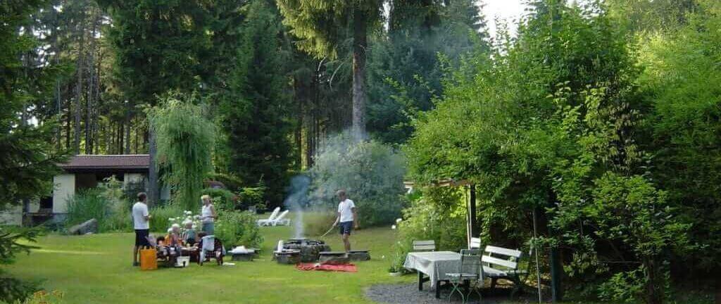 Fichtelgebirge: Urlaub im Garten